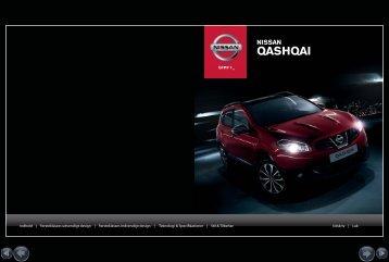 brochure for Nissan Qashqai