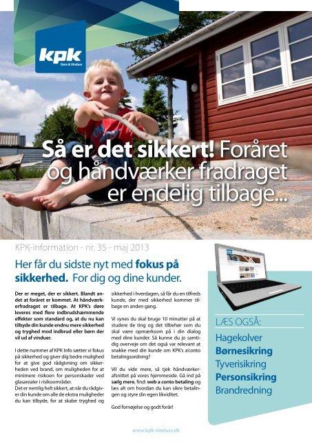 Hent KPK-information nr. 35 - KPK Vinduer