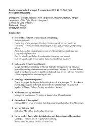 Bestyrelsesmøde tirsdag d. 7. november 2012 kl. 19.30 ... - lokalby.dk