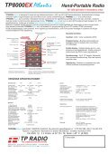 TP8000EX Datablad DK. - TP Radio - Page 2