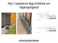 Tilgængelighed – revideret Byg Erfablad