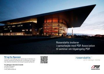Rosendahls inviterer i samarbejde med PDF Association til seminar ...
