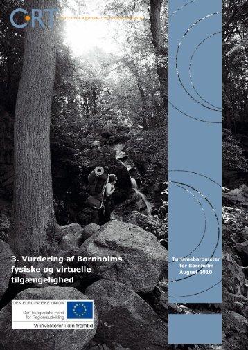 3. Vurdering af Bornholms fysiske og virtuelle tilgængelighed