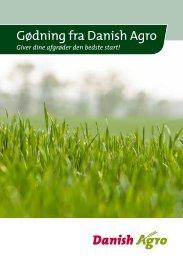 Gødning fra Danish Agro