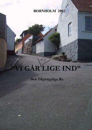 """VI GÅR LIGE IND"""""""