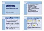 Angewandte Morphologie: Wortbildung im ... - Dr. Karin Reber