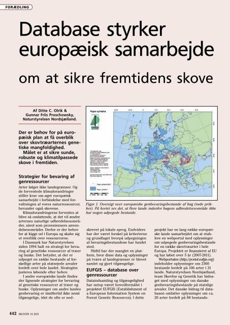 Database styrker europæisk samarbejde - EUFGIS