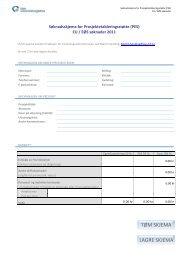 internregistrering, internkontroll og forankring av ... - Ous-research.no