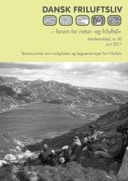 Dansk Friluftsliv nr. 85