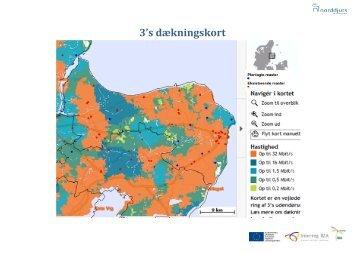 3's dækningskort - Region Halland