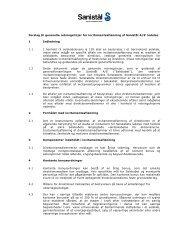 2013 nr. 03b - Forslag til generelle retningslinjer for ... - Sanistål A/S