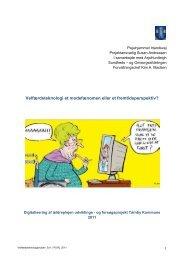 Digitalisering af ældreplejen - Tårnby Kommune