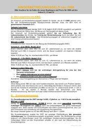 Zusatzblatt 2008 - linea7.com