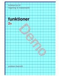 funktioner 2+ - Bernitt matematik
