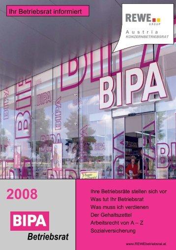 Titelseite Bipa 2008 - linea7.com