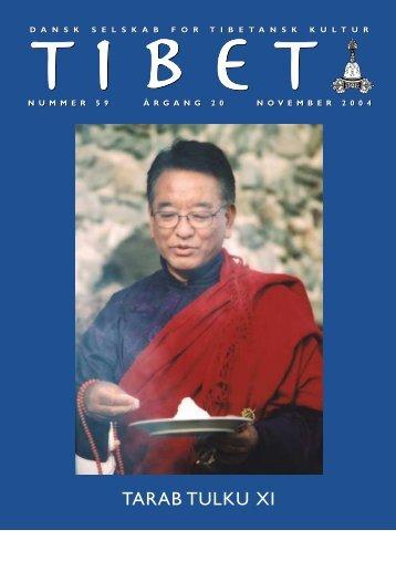 Tibet 59, 2004 - Dansk Selskab for Tibetansk Kultur