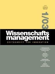 Heft 1/2003 - Lemmens Medien GmbH