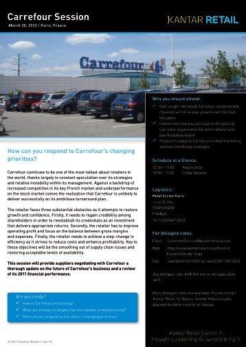 Carrefour Session - Kantar Retail iQ