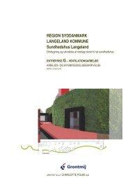 REGION SYDDANMARK LANGELAND KOMMUNE ... - Tegningsliste