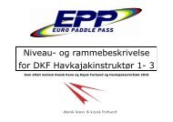 Instruktør 1 - Dansk Kano og Kajak Forbund