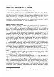 Beskatning af boliger - hvorfor og hvordan - De Økonomiske Råd