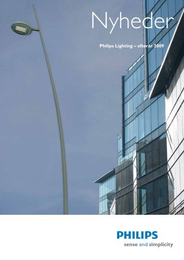Philips Lighting – efterår 2009