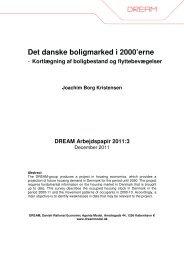 Det danske boligmarked i 2000'erne - kortlægning af ... - Dream