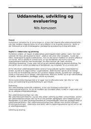 Uddannelse udvikling og evaluering - Black Diamond Consulting