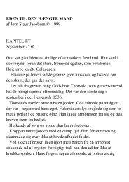 EDEN TIL DEN HÆNGTE MAND af Jørn Staus Jacobsen ... - Hjem