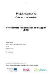 evalueringsrapport om Remote Rehabilitation Support - Caretech ...