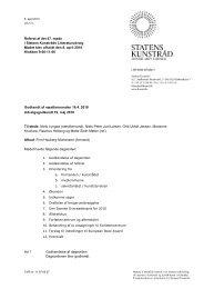 Referat af 47. udvalgsmøde - Kunst.dk