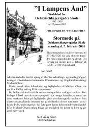Skoleblad 22 2005 748 Kb - Oehlenschlægersgades Skole ...