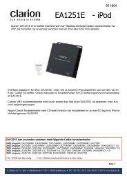 Informationsark m. monteringsvejledning (pdf)