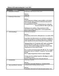 Referat af KS-møde torsdag den 11.nov. 2010 Dagsorden: Sted ...