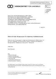 """VIDENCENTRET FOR LANDBRUG """"jbl"""