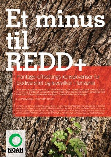Et minus til REDD+ - CARE Danmark
