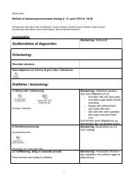 Referat af skolebestyrelsesmøde 13. april 2010 - Ørslev Skole