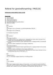 Referat for generalforsamling i Computer- og ... - SLM København