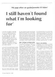 Still haven't found... af Christen Staghøj Sinding - Kirken Underviser