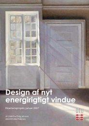 Design af nyt energirigtigt vindue - Viden Om Vinduer