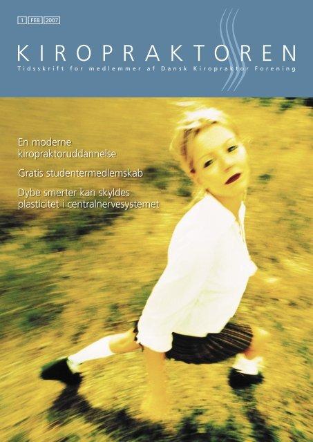 kiropraktoren nr. 1 2007 - Dansk Kiropraktor Forening