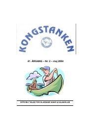 41. ÅRGANG – Nr. 2 – maj 2004