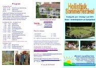 Folder - Holistisk Sommerfestival