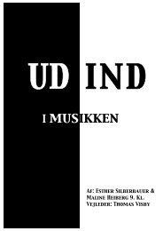 UD IND i musikken - Vester Skerninge Friskole