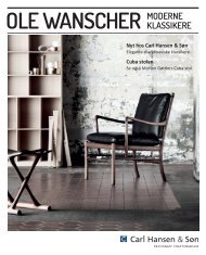 Ole Wanscher Brochure - Carl Hansen & Son