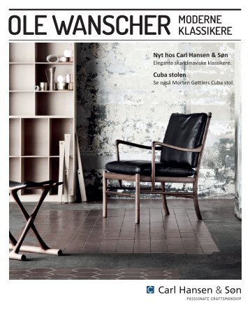 Ole Wanscher Brochure - Carl Hansen & Son