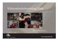 Virksomhedsberetning 2006 - Odense Centralbibliotek