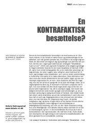 En kontrafaktisk besættelse? - Historie-nu.dk