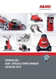 POWERLINE – KUN I SPECIALFORRETNINGER ... - AL-KO Kober AG