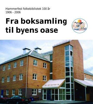 Jubileumsboka (pdf) - Hammerfest bibliotek